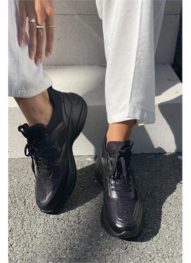 İnan Ayakkabı BAYAN SNEAKER Siyah